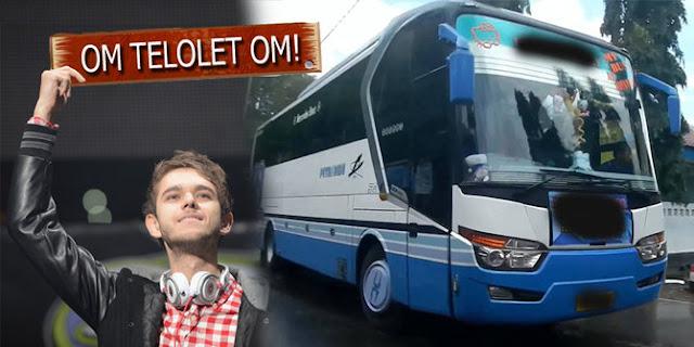 """Cerita Haru Pak Sopir dibalik Klakson Bus """"Om Telolet Om"""" yang Mendunia"""