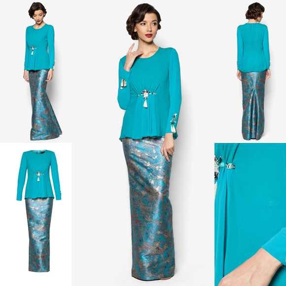 Fesyen Baju Raya 2016 Terkini Jovian Mandagie Baju Kurung ...