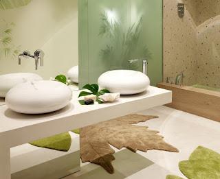 Alfombras originales de baño