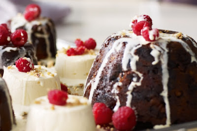 Individual christmas puddings recipe