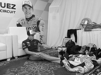 Jatuh Sakit, Marquez Lewatkan FP2 MotoGP Malaysia