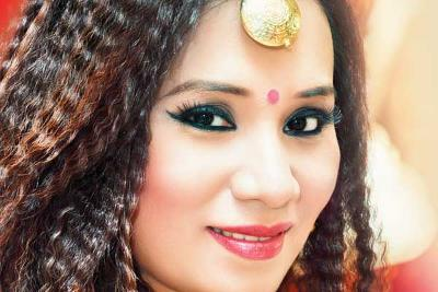 Bhojpuri Singer Kalpana Patowary  IMAGES, GIF, ANIMATED GIF, WALLPAPER, STICKER FOR WHATSAPP & FACEBOOK