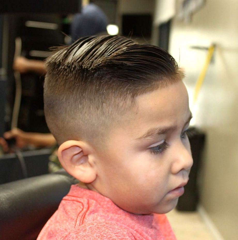 Brush Cut Kid Hairstyle Model Picture Wallpapers Library