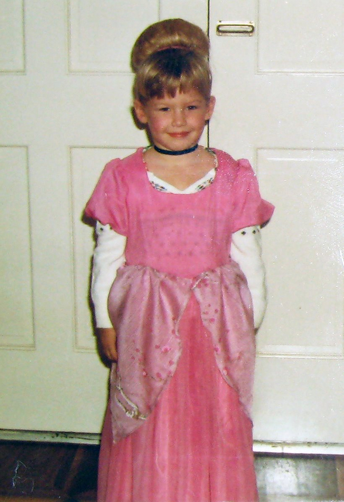 Cinderella costume, 80's kids