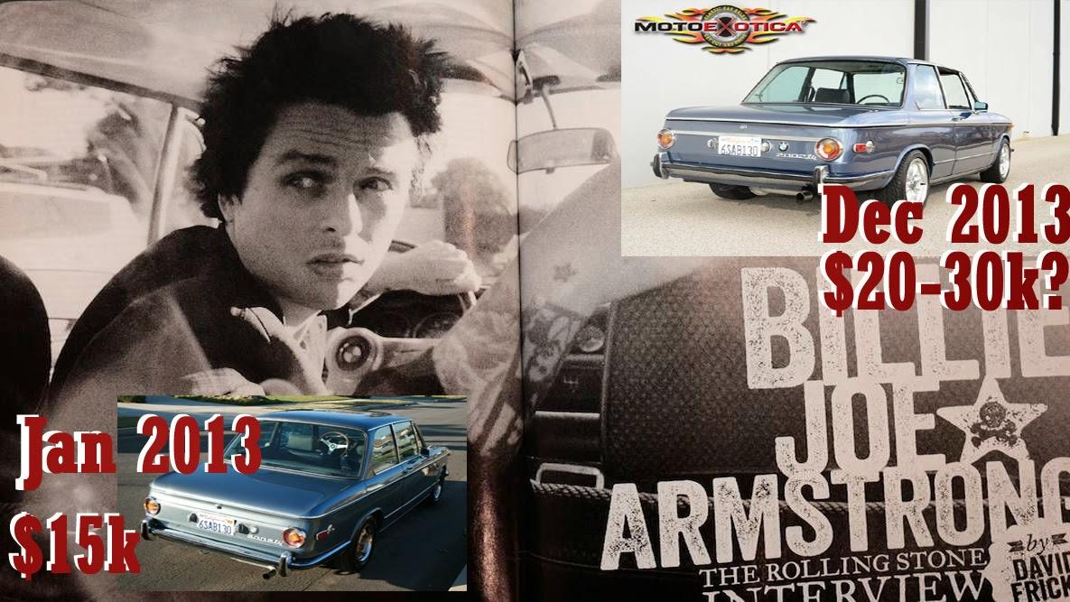 BMW 2002 Tii For Sale >> Daily Turismo: 15k: Billie Joe's Slushbox: 1972 BMW 2002 Tii