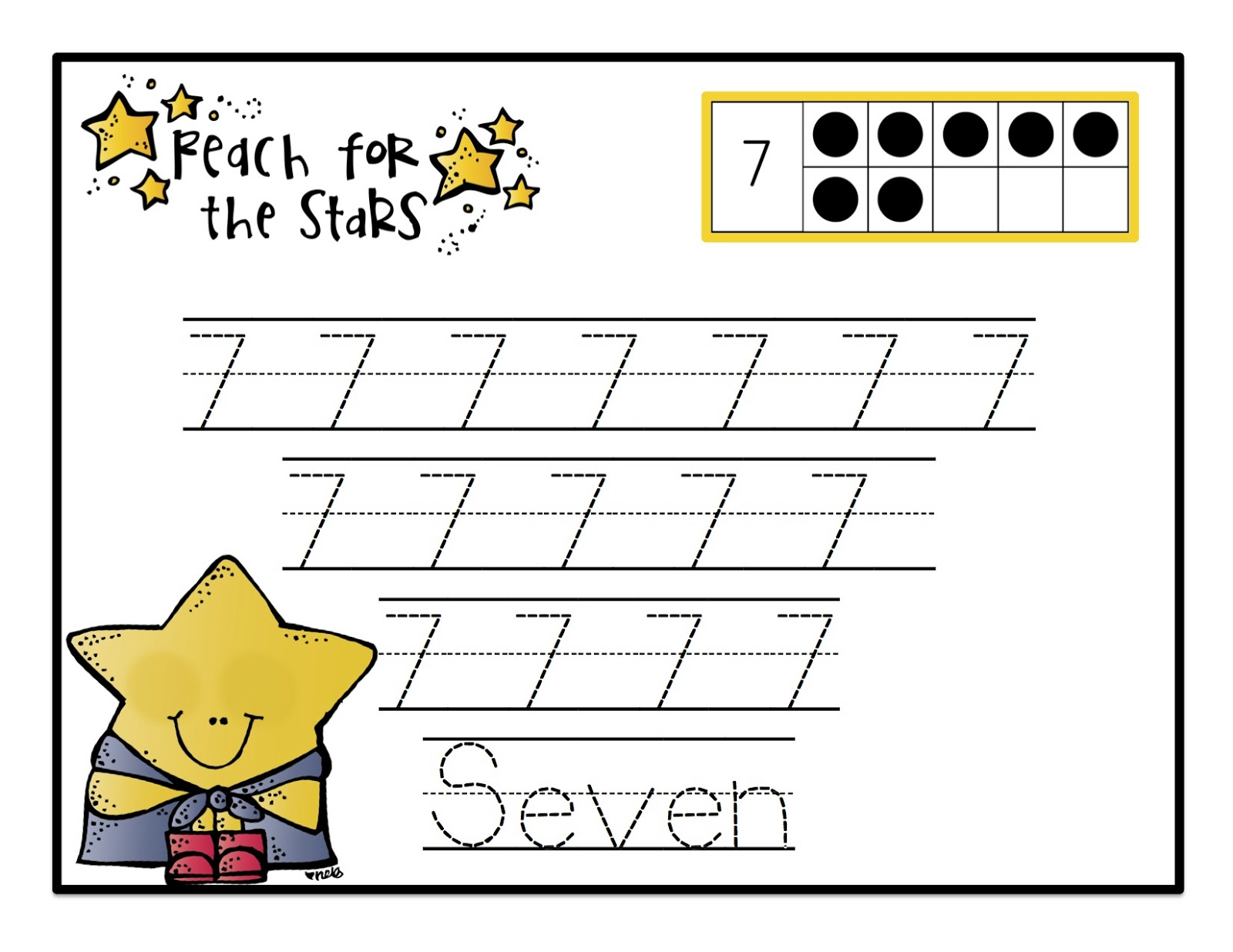 April Preschool Printables