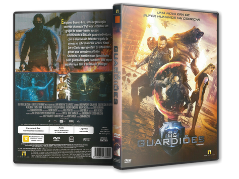 Capa DVD Os Guardiões