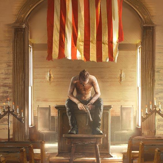 Far Cry 5 - Church Wallpaper Engine