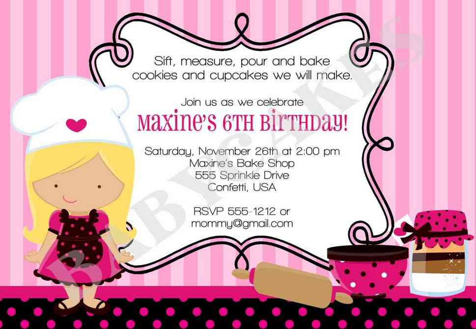 Bahasa inggris online birthday party invitation letter stopboris Gallery