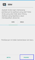 proses ubah background bbm 9