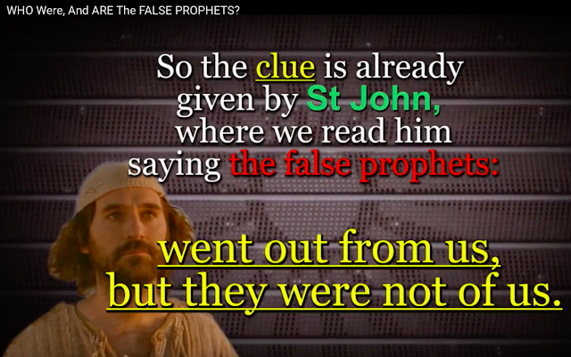 WHO Were, And ARE The FALSE PROPHETS?