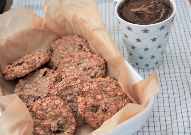 dietetyczne słodycze ciasteczka orkiszowe