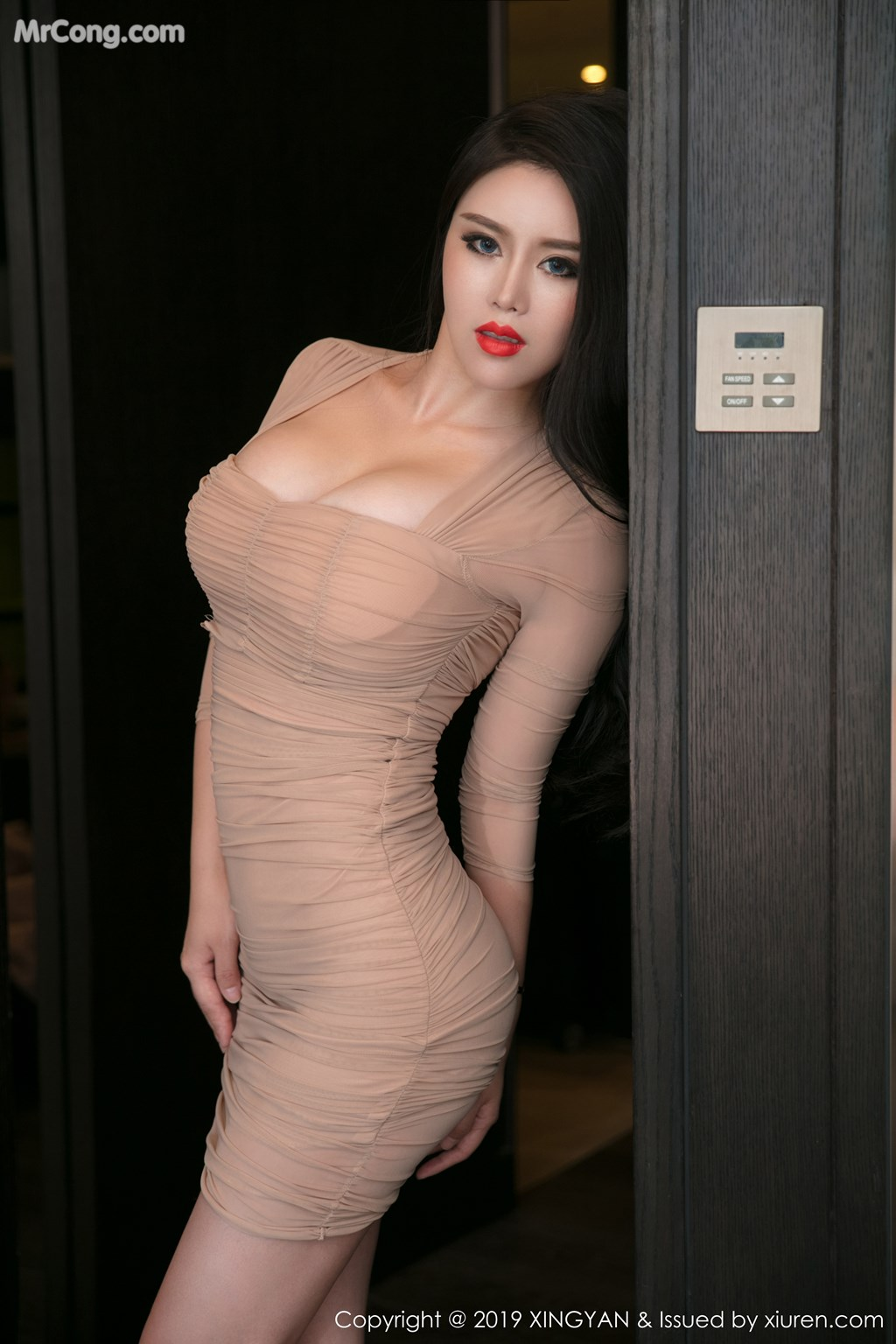 Image XingYan-Vol.111-Ke-Rui-Na-MrCong.com-021 in post XingYan Vol.111: Người mẫu Ke Rui Na (可蕊娜) (52 ảnh)