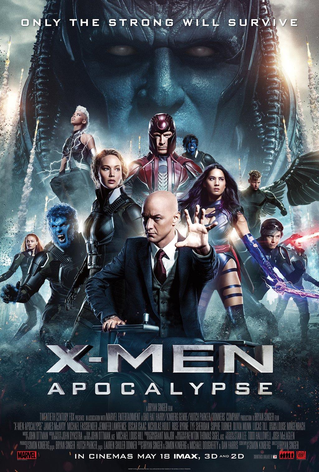 [MASTER แท้มาแล้ว 1080P HQ] X-MEN APOCALYPSE (2016) X-เม็น อะพอคคาลิปส์ [MASTER]
