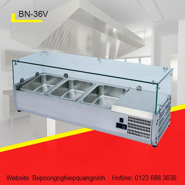 Thiết bị giữ nóng 3 khay BN-36V
