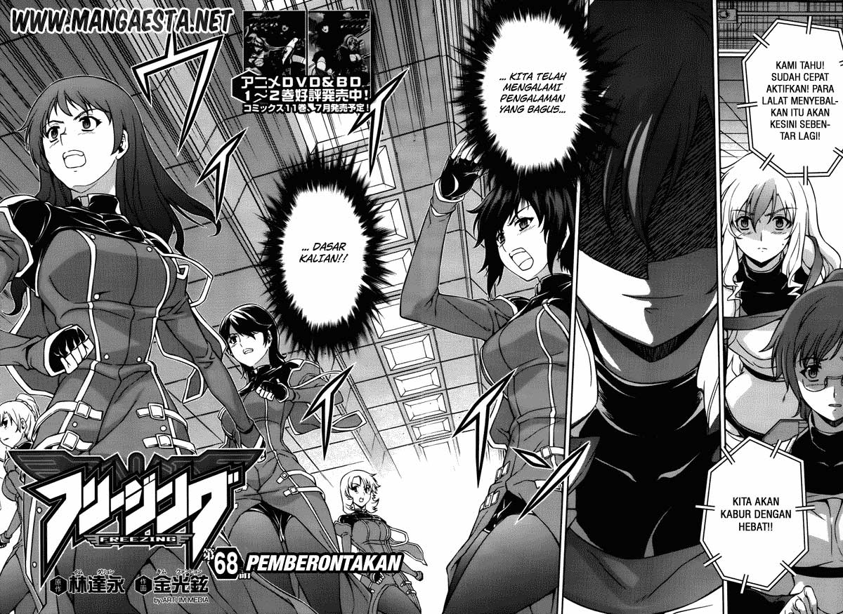 Freezing chapter 68 Pemberontakan