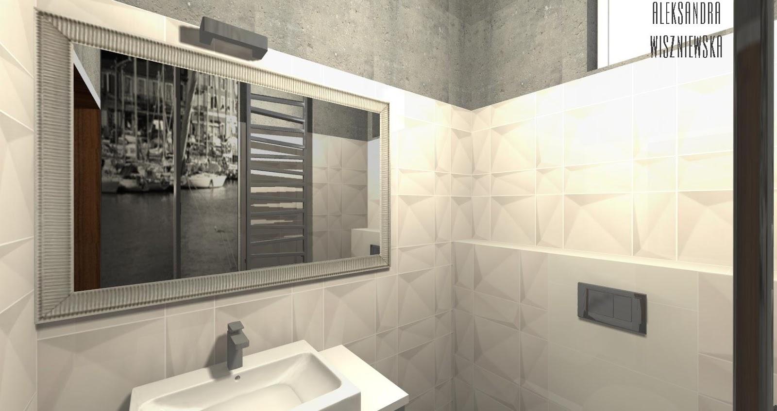 projekty azienek wizualizacje tub dzin maciej zie berlin tegel weiss parady tecniq nero. Black Bedroom Furniture Sets. Home Design Ideas