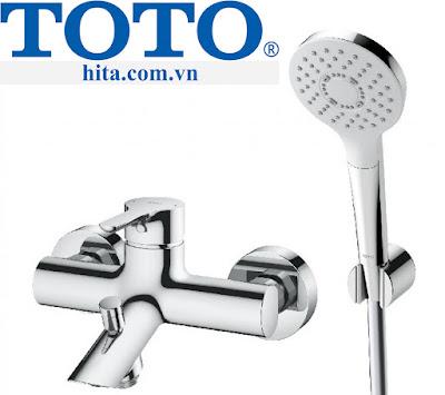 Bộ sen tắm Toto TBS01302V/TBW01008A chính hãng hàng thật 100% chính hãng