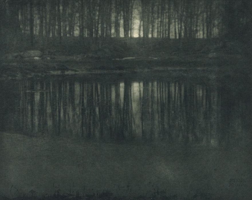 #48 Moonlight: The Pond, Edward Steichen, 1904 - Top 100 Of The Most Influential Photos Of All Time