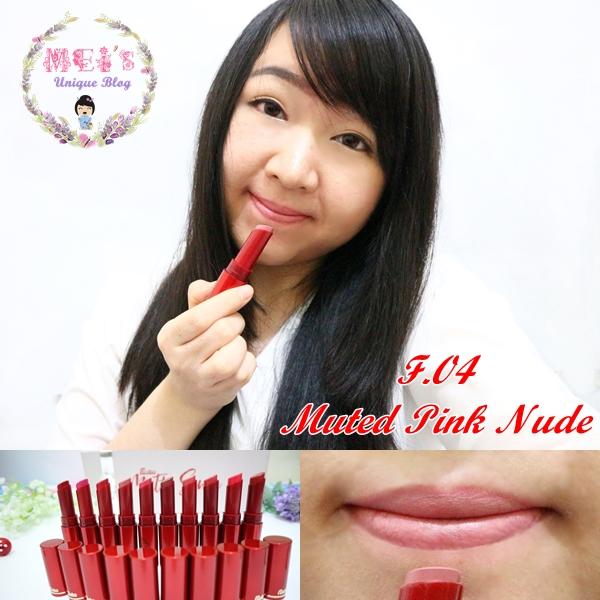 Fanbo Fantastic Matte Sense Matte Lipstick Swatches F.04