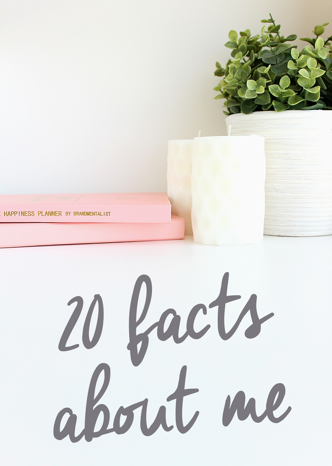 Life in Excess Blog - 20 Facts About Me