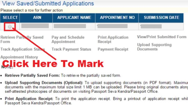 how to change appointment date in passport