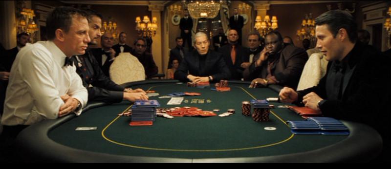 Escena de Casino Royale