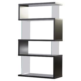 Design rak lemari buku minimalis model 3