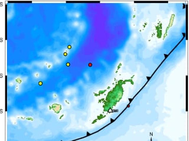 9 Gempa di Tanimbar Selama Seminggu