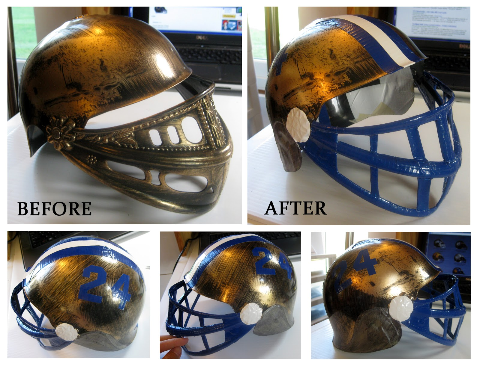 what year was the football helmet invented