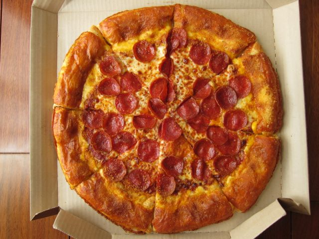 """The Grilled Cheese Stuffed Crust Pizza is the perfect combination of a classic grilled cheese and a traditional pizza,"" said David Timm, chief marketing officer, Pizza Hut. ""The result is a delicious, flavorful and indulgent pizza that packs the punch of a gooey, cheesy, crunchy grilled cheese.""."