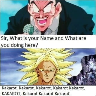 The entire personality of Broly