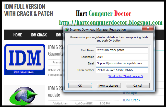 internet download manager serial number tool