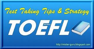 Tips TOEFL: Strategi Mengerjakan Test TOEFL Dengan Mengenali <i>Testing Point</i>