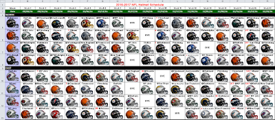 2016 nfl helmet schedule spreadsheet