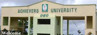 Achievers University Academic Calendar 2019/2020 [UPDATED]