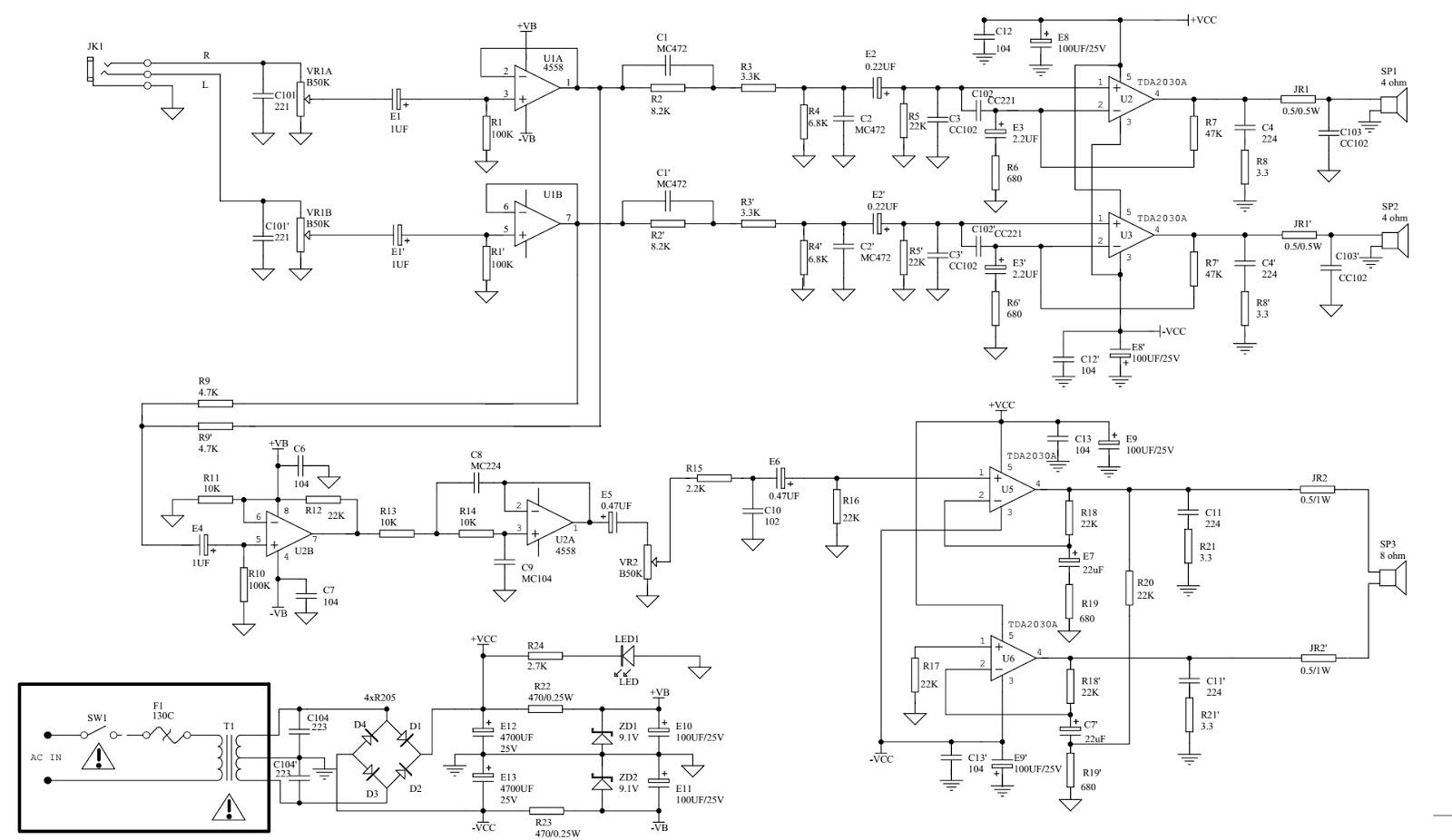 Newyork Gps Tda7377 Subwoofer Circuit Passive Wiring Diagram Micolab A330