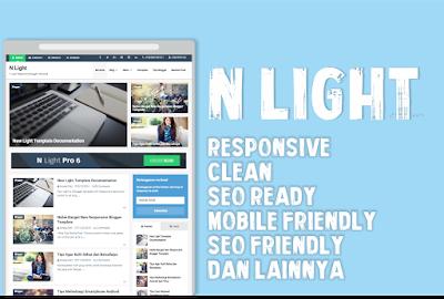 N Light V2 Blogger Template