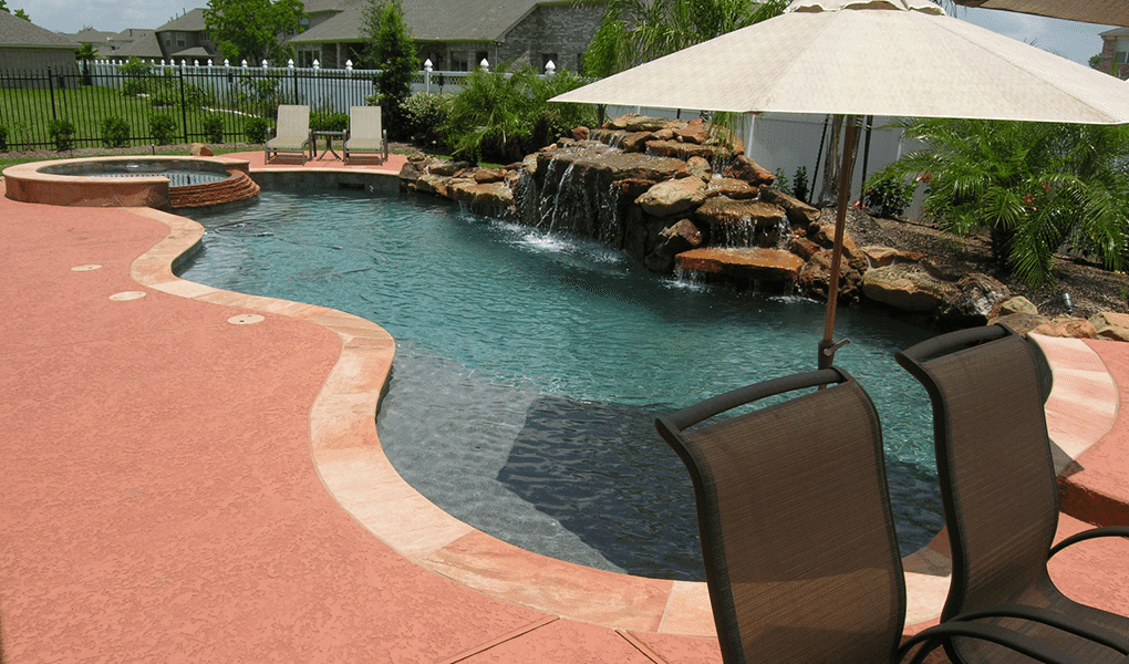 Custom Free From Inground Rock Pools DFW  8