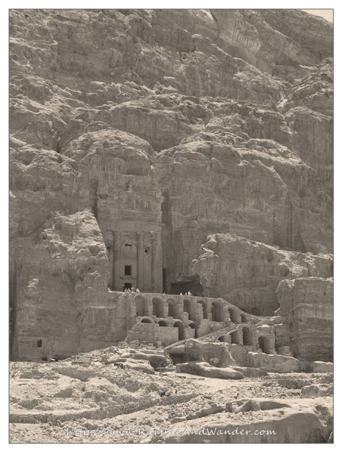 The Urn Tomb, Petra, Jordan