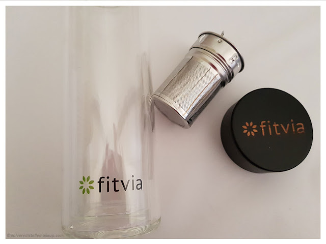 Thermo Bottle Fitvia componenti