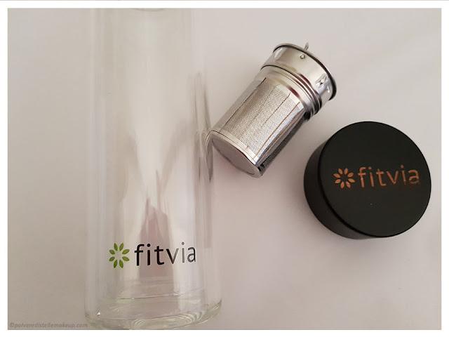 Thermo Bottle Fitvia componenti