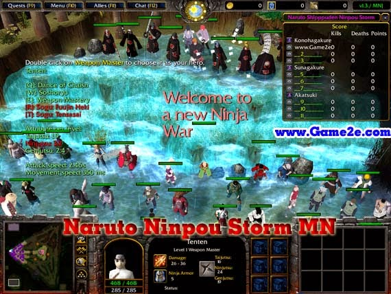 Download Map Dota Naruto Wars Terbaru 2017 Sokolbrazil