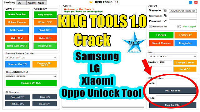 King Tools V1.0 Crack