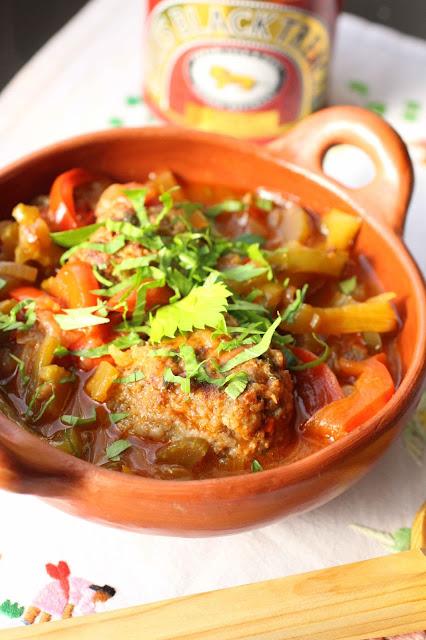 recette créole viande poivrns mélasse