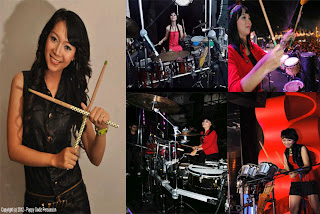 band cafe, perkusi band,girls band, girl band indonesia, sexy girl band