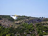 požar u Trsteni, Postira otok Brač slike