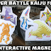 New Interactive Kaiju Magnets! Hyper Battle Kaiju Fight!