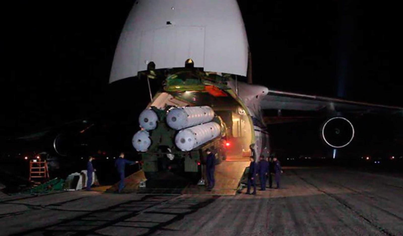 Kementerian Pertahanan Rusia menerbitkan video pembongkaran S-300 di Suriah